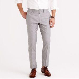 J. Crew Men's Bowery Gray Slim Fit Pants 31 x 32